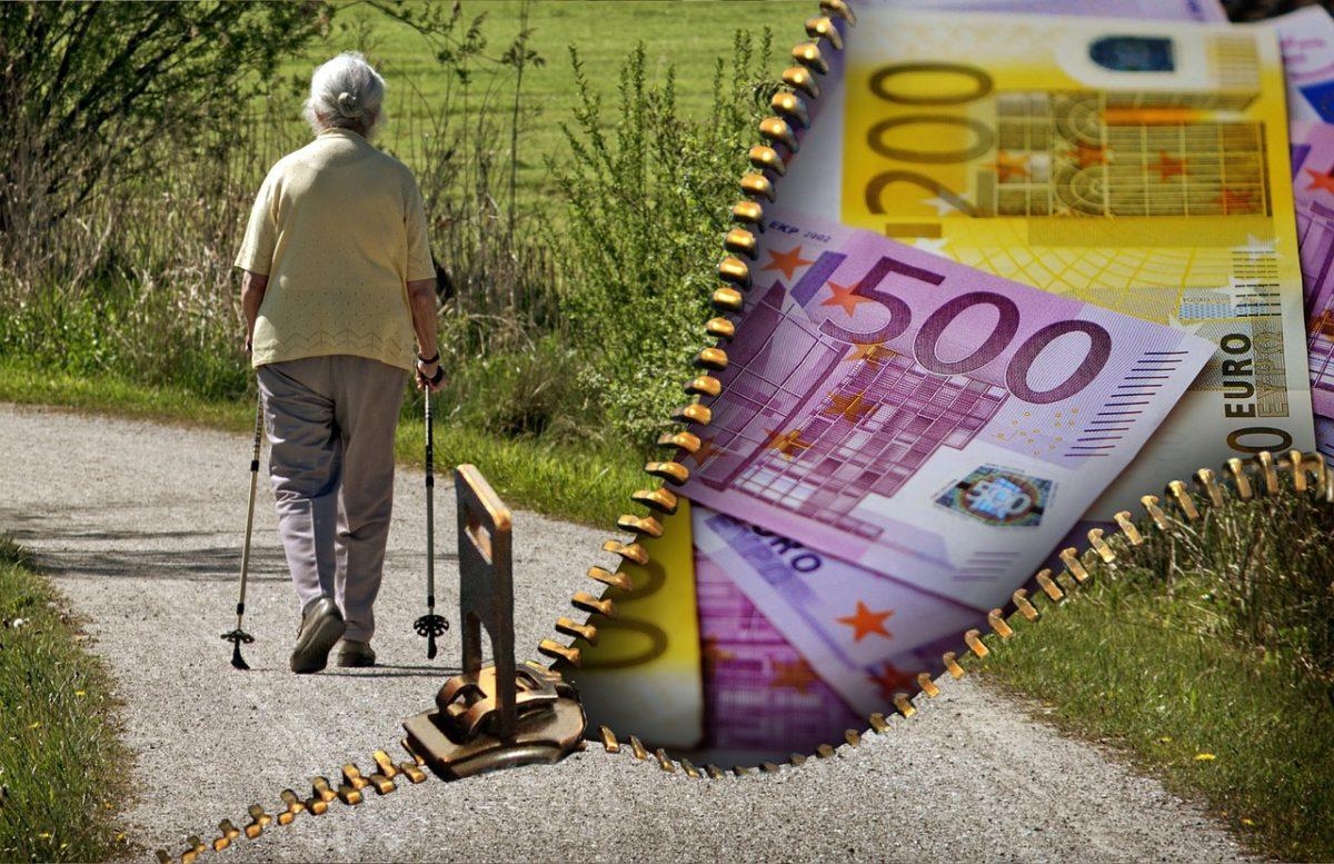 genügend Geld im Alter